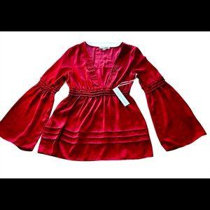🆕Young fabulous & Broke Peasant blouse